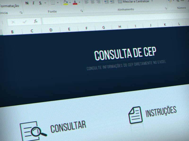 Planilha de consulta de CEP tuto13 02